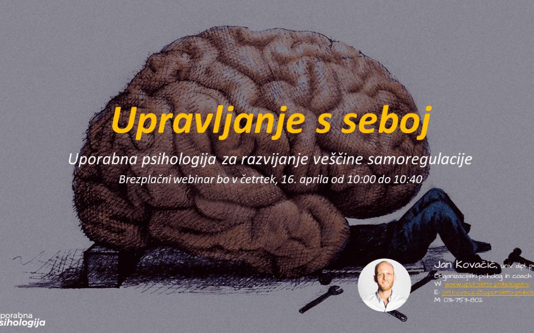 Samoregulacija_upravljanje s seboj_Jan Kovačič_Uporabna psihologija
