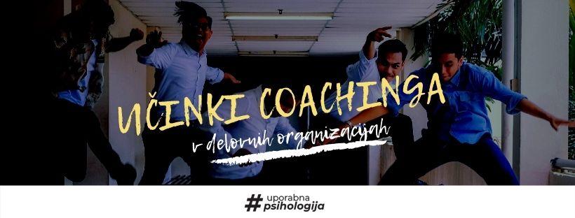 Učinkovitost coachinga