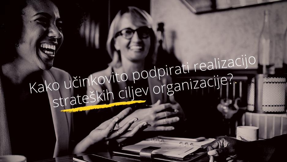 Kako interni coaching podpira realizacijo strateških ciljev organizacije?